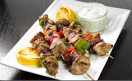 کباب مرغ یونانی