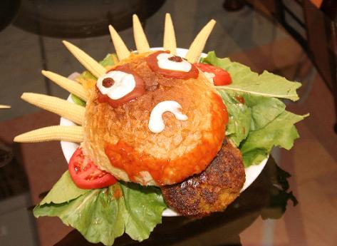 همبرگر آسیایی