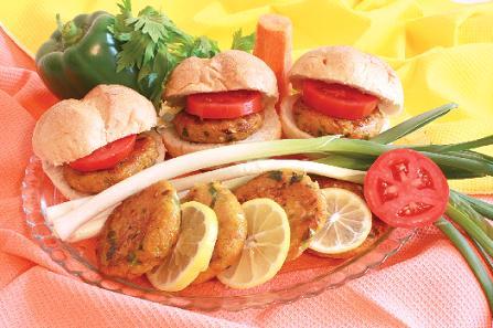 همبرگر سبزی