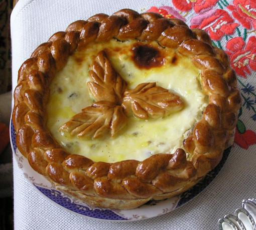 نان پنیری رومانی پاسکا