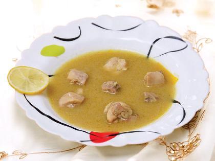 سوپ کاری مرغ